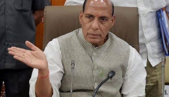 यूपी-एमपी की आतंकी घटनाओं पर संसद में बयान दे सकते हैं राजनाथ