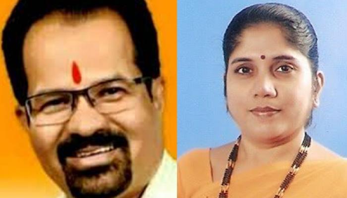 भाजपा के समर्थन से बीएमसी में शिवसेना का राज, विश्वनाथ बने मेयर और हिमांगी डिप्टी मेयर