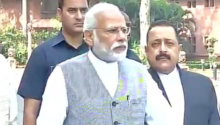 संसद सत्र से पहले बोले PM मोदी- उम्मीद है GST का रास्ता साफ होगा