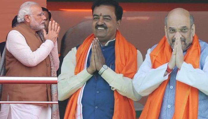 यूपी में मोदी लहर से सपा-कांग्रेस और बसपा साफ, सहयोगियों के साथ BJP ने जीती 325 सीटें