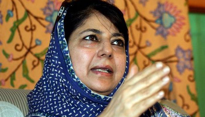 महबूबा मुफ्ती ने कश्मीर के कुछ इलाकों से 'अफ्सपा' हटाने की वकालत की