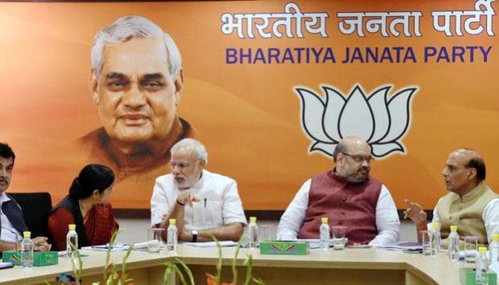 'भाजपा ने खींचा 2019 लोस चुनाव की रणनीति का खाका, दलितों तक पहुंच बनाने पर जोर'