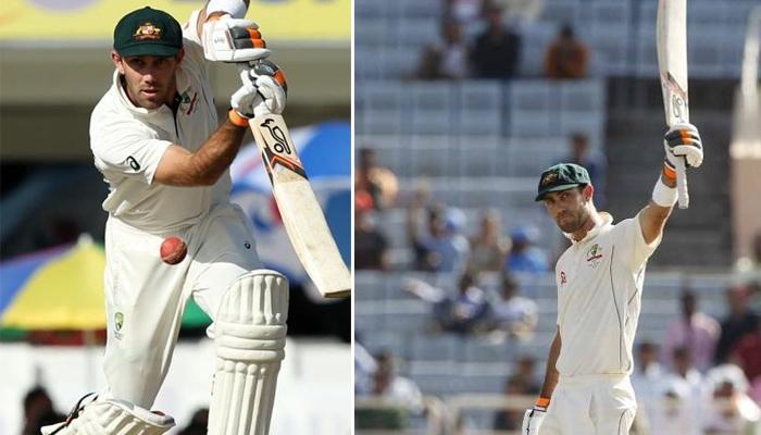 टेस्ट क्रिकेट का पहला शतक लगाने वाले मैक्सवेल ने बनाए ये रिकॉर्ड