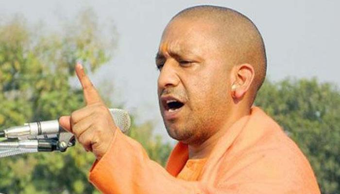 योगी आदित्यनाथ को यूपी का सीएम चुने जाने पर कांग्रेस, भाजपा में तकरार