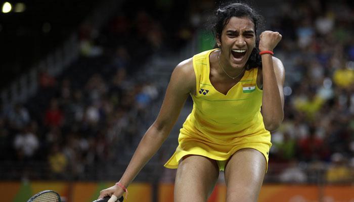 रियो ओलंपिक की 'सिल्वर गर्ल' पीवी सिंधु बनीं साल की बेस्ट प्लेयर