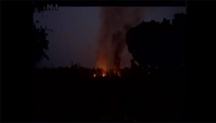 जबलपुर की आर्डिनेंस फैक्ट्री में लगी आग, 6 लोग घायल