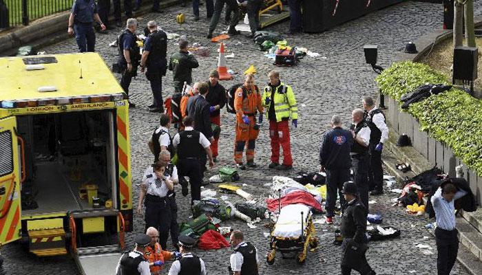 ब्रिटिश संसद पर हमला: दो लोगों से पूछताछ जारी, सात छोड़े गए