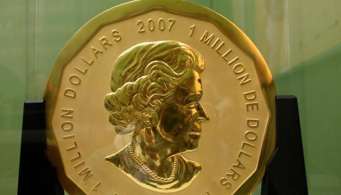 जर्मनी के म्यूजियम से चोरी हुआ 100 किलो सोने का सिक्का