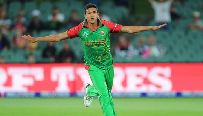 श्रीलंका के खिलाफ हैट्रिक लेने वाले बांग्लादेश के पहले गेंदबाज बने तस्कीन अहमद