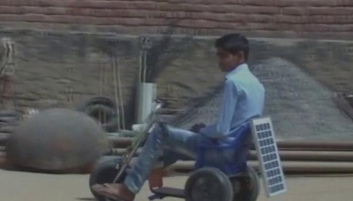 इनोवेटिव इंडिया की अनोखी मिसाल, 13 साल के छात्र ने बनाई सोलर बाइक