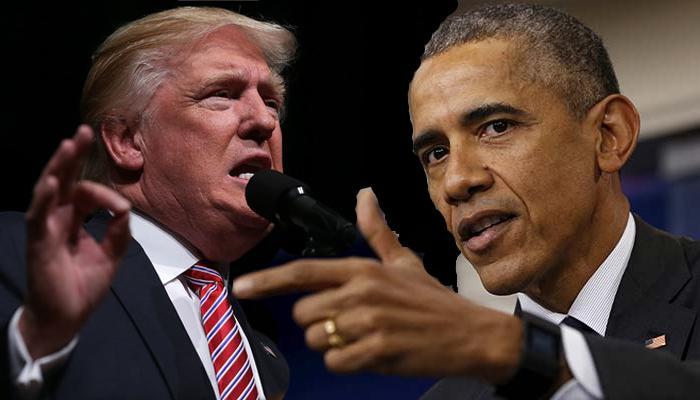 सीरिया हमला के लिए ट्रम्प ने ओबामा को ठहराया दोषी