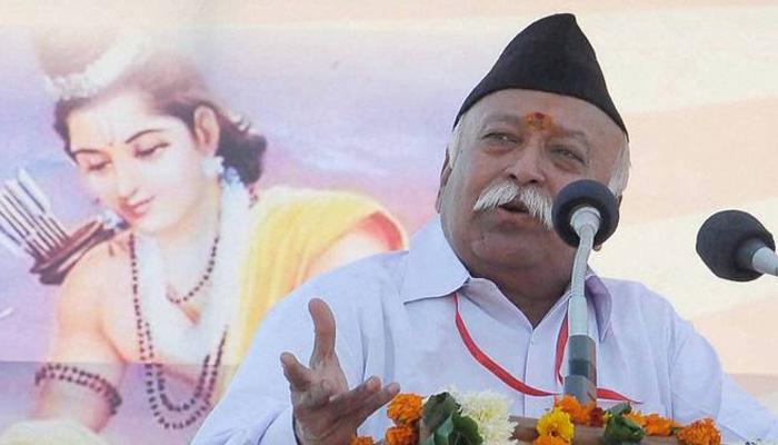 संघ चाहता है गौ हत्या के ख़िलाफ़ कड़ा क़ानून, गौरक्षा के नाम पर हिंसा बर्दाश्त नहीं: मोहन भागवत