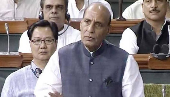 संसद में उठा कुलभूषण जाधव का मुद्दा, राजनाथ बोले- उन्हें बचाने के लिए जो भी करना पड़े, सरकार करेगी