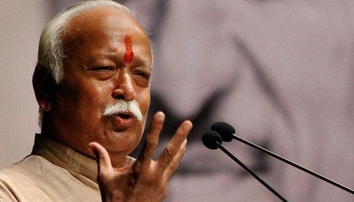 सरसंघचालक मोहन भागवत का बड़ा बयान, कहा- अदालत के पास नहीं है राम मंदिर का इलाज