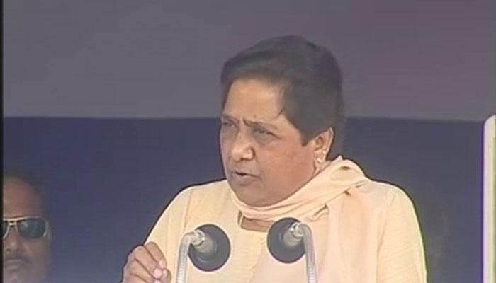 मायावती का आरोप, भाजपा ने 403 सीटों में से 250 सीटों पर ईवीएम में गड़बड़ी की