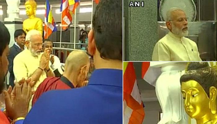 नागपुर की दीक्षाभूमि में PM मोदी ने अंबेडकर को दी श्रद्धांजलि