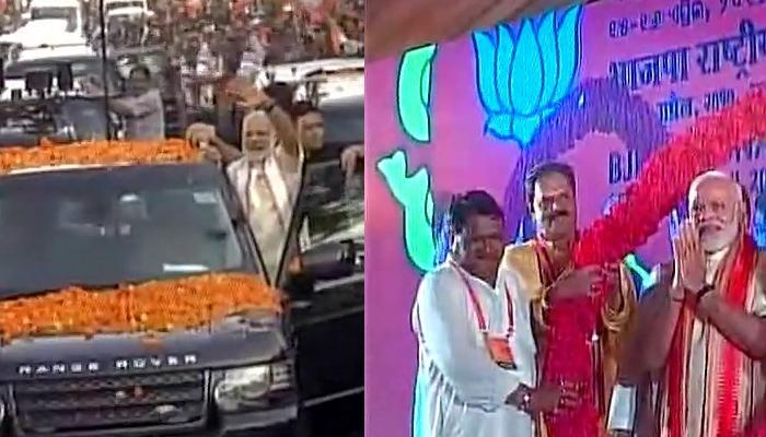 BJP राष्ट्रीय कार्यकारणी की बैठक भुवनेश्वर में शुरू, बैठक से पहले PM मोदी ने किया रोड शो