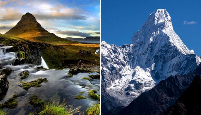 तस्वीरों में देखें दुनिया के खूबसूरत पर्वत