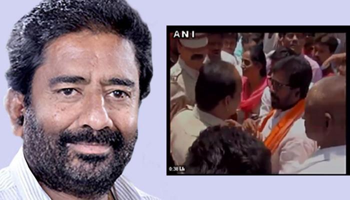 एयर इंडिया विवाद के बाद अब पुलिस से भिड़े रवींद्र गायकवाड़, वीडियो हुआ वायरल