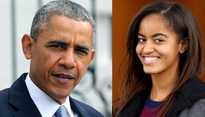 ओबामा की बेटी का पीछा कर रहा था ये शख्स, पकड़ा गया
