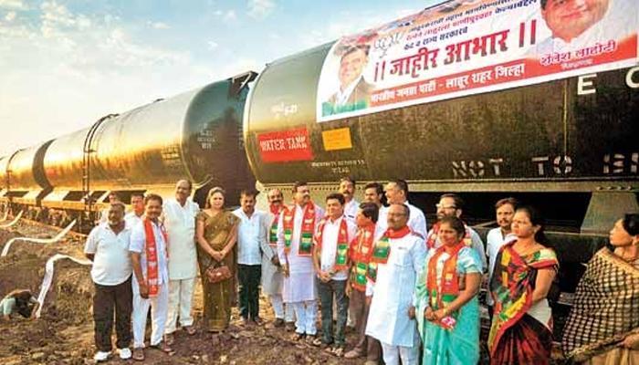 लातूर के सूखे में खिला 'कमल', आजाद भारत में पहली बार ढहा कांग्रेस का दुर्ग