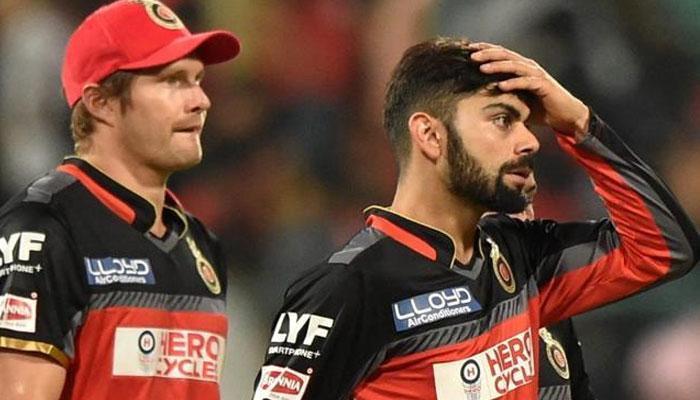 आईपीएल 10 : ताश के पत्तों की तरह बिखर गए कोहली के बल्लेबाज, डबल डिजिट तक नहीं पहुंचे