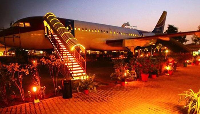 लुधियाना में एयरोप्लेन रेस्टोरेंट