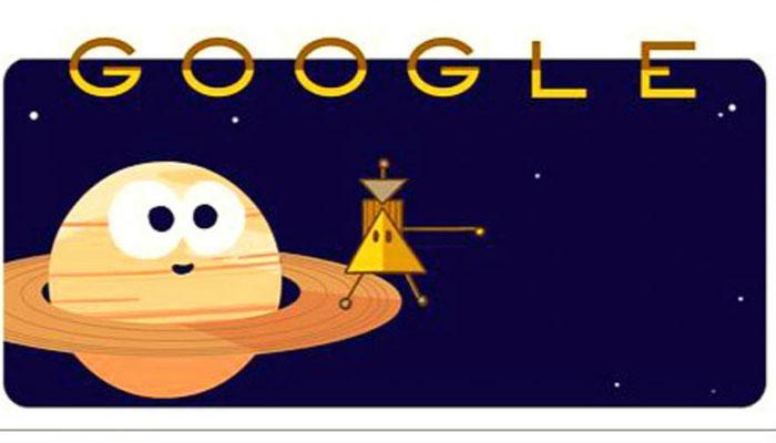टाइटन के मिशन पर निकले कैसीनी ने लिया 'द फाइनल डाइव', गूगल ने डूडल बना बढ़ाया उत्साह