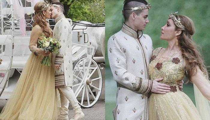 तस्वीरों में सोफिया हयात की शादी