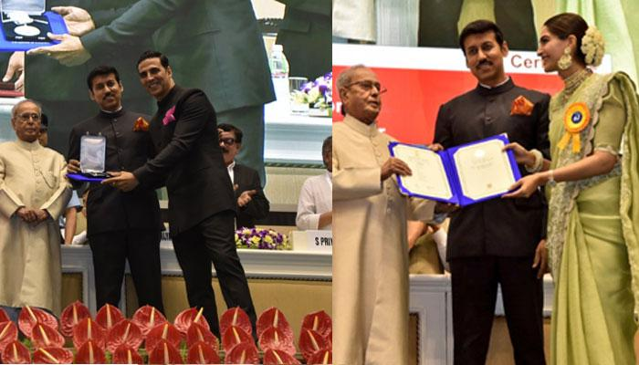 राष्ट्रपति ने बांटे राष्ट्रीय फिल्म पुरस्कार, अक्षय कुमार को मिला पहला नेशनल अवॉर्ड