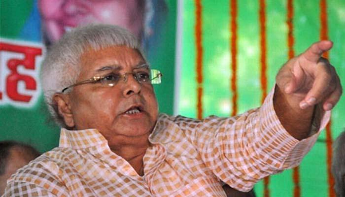 लालू ने राजद कार्यकर्ताओं से कहा, 'भाजपाईयों के घर के बाहर दूध नहीं देने वाली और बूढ़ी गायों को बांधे'