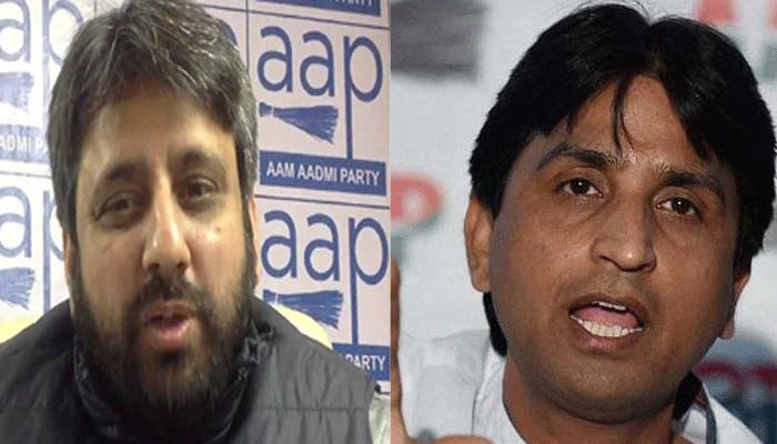 कुमार विश्वास के करीबी विधायकों पर गिरी गाज, अमानतुल्ला को मिली अहम जिम्मेदारी