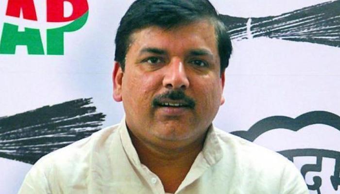 कपिल मिश्रा के बहाने भाजपा कर रही है AAP को 'खत्म करने' की साज़िश: संजय सिंह