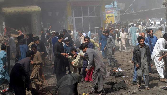 पाकिस्तान के बलूचिस्तान में विस्फोट, बाल-बाल बचे सीनेट उपाध्यक्ष हैदरी, 25 की मौत