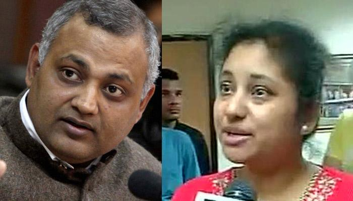 दिल्ली पुलिस ने कोर्ट में कहा- सोमनाथ भारती अपनी पत्नी को पीटते थे