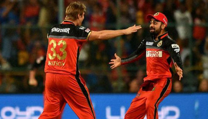 IPL 10 : हार कर भी निराश नहीं RCB के खिलाड़ी, कोहली के नए रेस्टोरेंट में कर रहे मस्ती