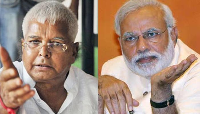 लालू ने PM मोदी को दी चुनौती- लोकसभा भंग कर फिर से चुनाव कराएं