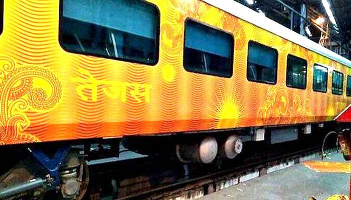 सुरेश प्रभु आज दिखाएंगे 'तेजस एक्सप्रेस' ट्रेन को हरी झंडी, जानें क्या है किराया और सुविधाएं