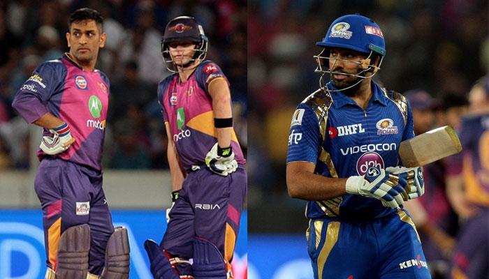 आईपीएल-10 फाइनल: राइजिंग पुणे सुपरजाइंट ने जब रोहित शर्मा का उड़ाया मजाक