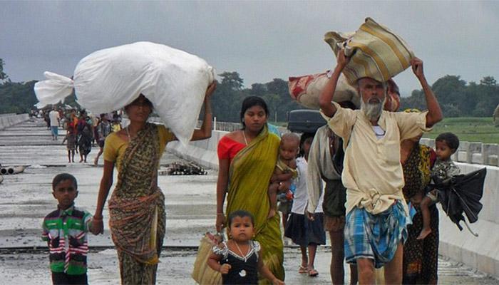 संरा रिपोर्ट: जातीय संघर्ष और आपदा से भारत में करीब 28 लाख लोग विस्थापित