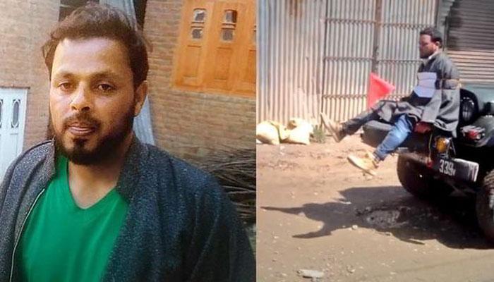 पथराव करने वाला नहीं, छोटा आदमी हूं: जीप से बांधे गए कश्मीरी शॉल कारीगर ने कहा