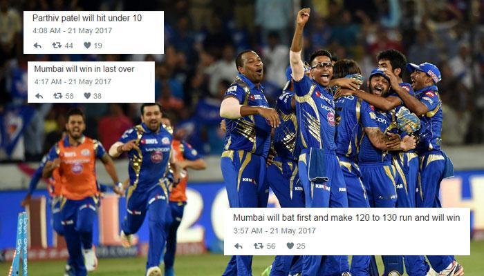 सोशल मीडिया कह रहा है IPL-10 फाइनल फिक्स था?