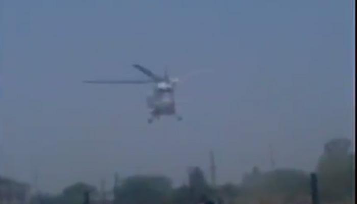 क्रैश लैंडिंग: ऐसे हादसे का शिकार हुआ CM फडणवीस का हेलीकॉप्टर, WATCH VIDEO