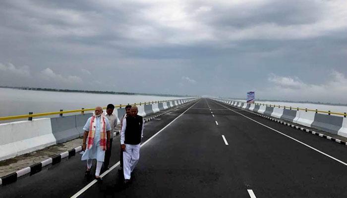 ₹950 करोड़ की लगात से बना ढोला-सदिया पुल, असम-अरुणाचल की दूरी 165 किमी कम हुई