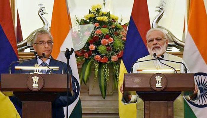 मॉरीशस की मदद में भारत ने किया 50 करोड़ डॉलर का इज़ाफ़ा, दोनों मुल्कों में समुद्री सुरक्षा पर क़रार