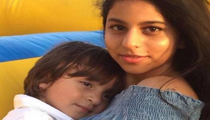 PICS : जन्मदिन पर दीदी सुहाना के साथ नजर आए अबराम, लोगों से मिले प्यार को देख भावुक हुए शाहरुख