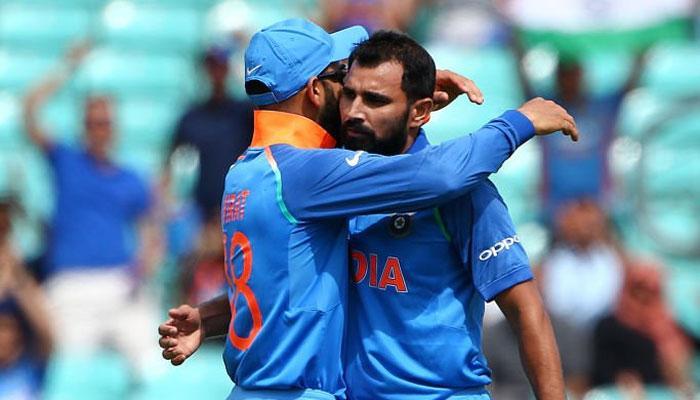 चैंपियंस ट्रॉफी अभ्यास मैच: खेलकर नहीं, ऐसे जीता भारत