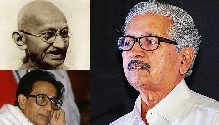 शिवसेना नेता का विवादित बयान; गांधी का स्मारक बन सकता है तो ठाकरे का क्यों नहीं?