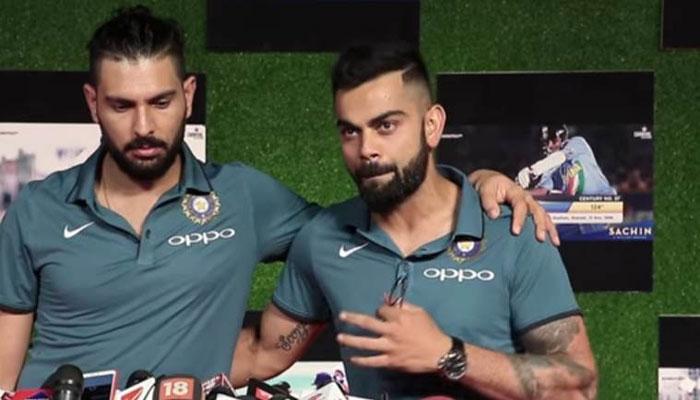 VIDEO : बायोपिक के सवाल पर विराट कोहली ने दिया ऐसा जवाब, युवराज सिंह की छूटी हंसी
