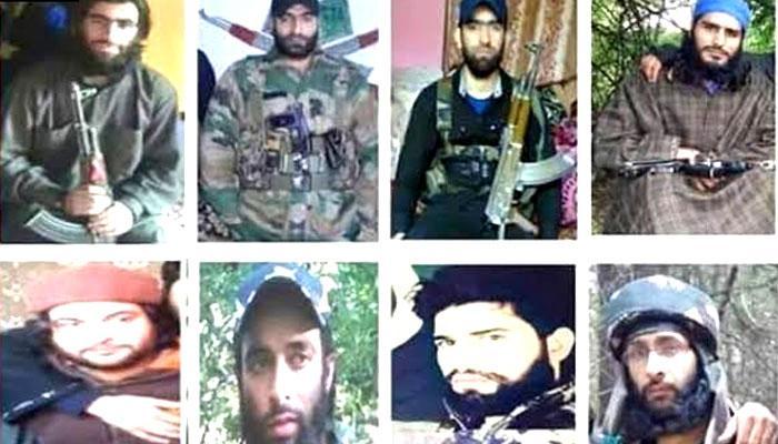 भारतीय सेना ने 12 मोस्ट वांटेड आतंकियों की तस्वीरें जारी की